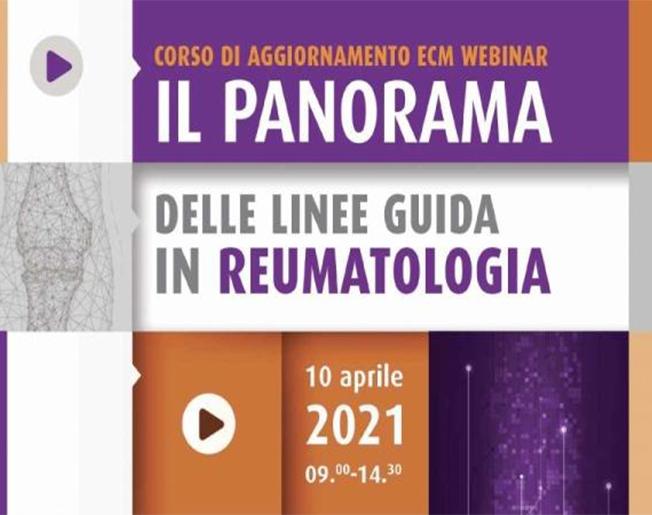 IL PANORAMA DELLE LINEE GUIDA IN REUMATOLOGIA